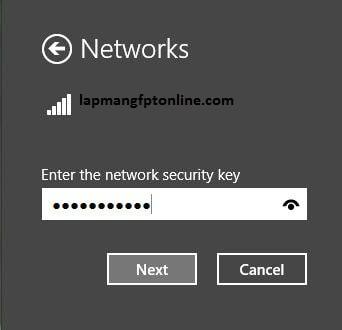 Kiểm tra bằng laptop vào wifi và nhấn truy cập vào mạng Wifi đã được khởi tạo trên điện thoại Android